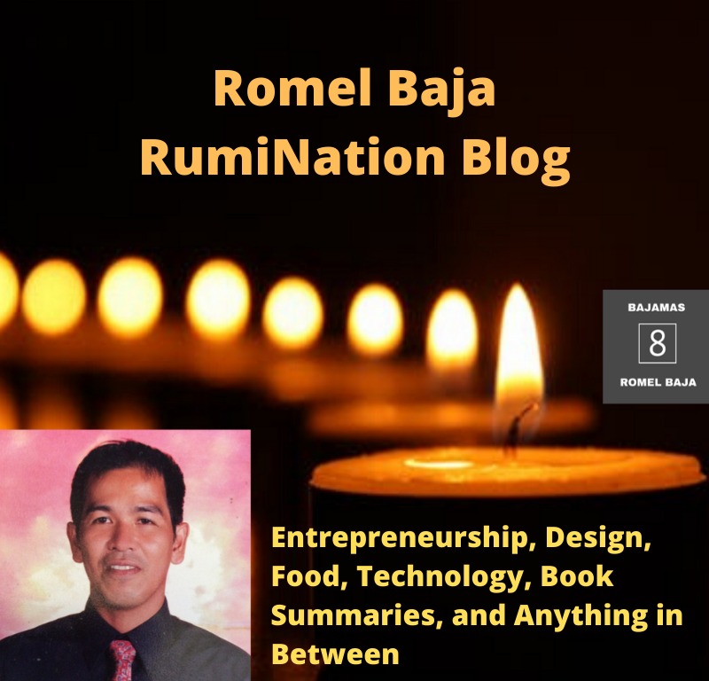 Romel Baja RumiNation Blog